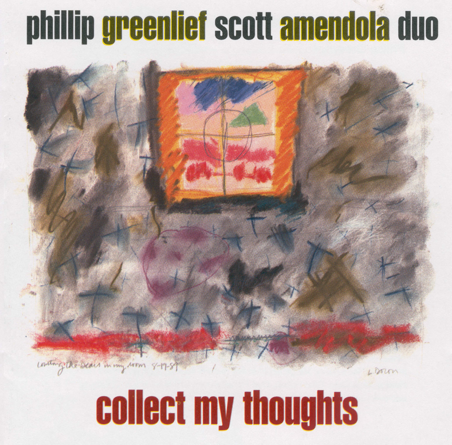 Phillip Greenlief / Scott Amendola Duo – Collect My Thoughts